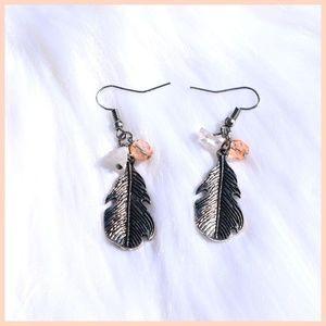 Jewelry - *** Silver Feather Earrings